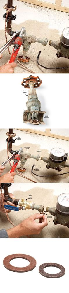 If you get drips of water coming through your pipes even with the main shutoff valve completely closed, it's probably time to replace the shutoff with a new ball valve. It's not complicated, but the house water will be off, so it's a good idea to get your ducks in a row before you start. Learn how to replace your main shutoff valve at http://www.familyhandyman.com/DIY-Projects/Plumbing/Plumbing-Repair/home-repair-how-to-replace-the-main-shut-off-valve