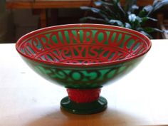 Glass Engraving, Serving Bowls, Decorative Bowls, Carving, Tableware, Dinnerware, Wood Carvings, Tablewares, Sculptures