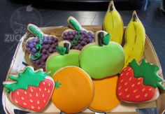 Atelier Zuckersüss: Fruit bowl cookies
