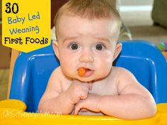 To help us all out of the rut I asked my friends from Baby Led Weaning... Compiled below is a list of their baby's favorite baby led weaning first foods.