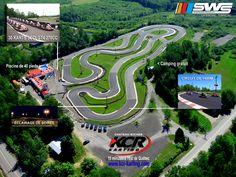 Piste KCR Karting Chateau Richer