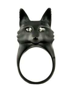 Wildfox Couture Jewelry  Black Fox Ring