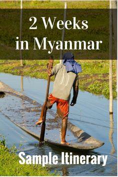 2 Weeks in Myanmar Pinterest