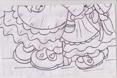 Catia Artes Manuais: PINTURA VAQUINHA COM RISCO
