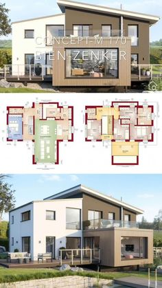 Modern Architecture Design, Architecture Plan, Interior Architecture, Parametric Architecture, Drawing Architecture, Architecture Portfolio, Modern House Plans, Modern House Design, House Floor Plans