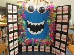 Teacher Wish List - Scholastic Monster Theme