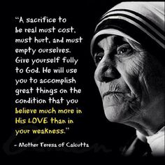 Discover and share Humanitarian Mother Teresa Quotes. Explore our collection of motivational and famous quotes by authors you know and love. Catholic Quotes, Catholic Prayers, Religious Quotes, Spiritual Quotes, Mother Theresa Quotes, Mother Quotes, Saint Teresa Of Calcutta, A Course In Miracles, Saint Quotes