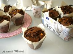 MUFFINS DE CHOCOLATE irresistibles