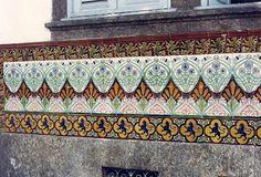 Azulejos antigos no Rio de Janeiro: Cidade Nova IV - rua Viscondessa de Piraçununga - DESTRUÍDO