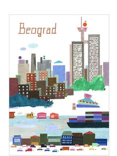 Belgrade, Serbia by Christina Gransgow