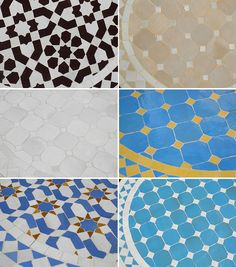 Moroccan Mosaic Tables