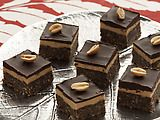 Peanut Butter Nanaimo Bar    Find full recipe at: http://www.foodnetwork.com/recipes/food-network-kitchens/peanut-butter-nanaimo-bar-canada-recipe/index.html