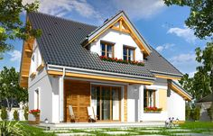 Projekt domu Spokojny (TFT-613) - 101.78m²