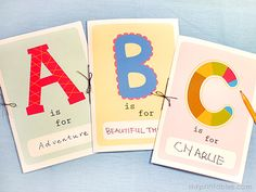 Printable Alphabet Book | Mr Printables