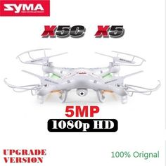 56.00$  Watch here - http://ali1gi.worldwells.pw/go.php?t=32667413441 - SYMA X5C X5 RC Drone With 5MP HD Camera 4CH 6-Axis Remote Control Helicopter Quadcopter Dron 56.00$