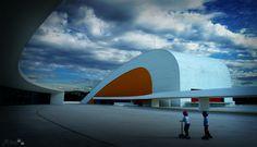 Centro Cultural Internacional Oscar Niemeyer, Avilés, Asturias, Spain