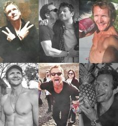 What's with the pineapple? Sebastian Roche, Angels And Demons, Pretty Men, Destiel, 15 Years, I Love Him, Beautiful Boys, Supernatural, Originals