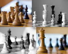 Five Chess position Staunton and East Europe by StegoPhotoStore, €7.00