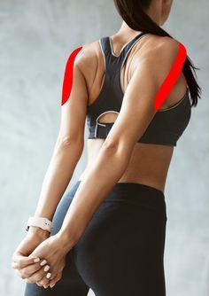 8 Stretches to Relieve Stiff Neck and Shoulder Tension! - My Recipes 24 Neck And Shoulder Stretches, Neck And Shoulder Pain, Neck And Back Pain, Neck Pain, Neck Exercises, Neck Stretches, Stretching Exercises, Dor Cervical, Trapezius Stretch