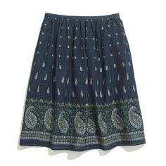 Madewell  Nomad Paisley Skirt