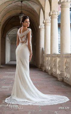 DREAM - MS Moda - Evita Lace Wedding, Wedding Dresses, Fashion, Wedding, Bride Dresses, Moda, Bridal Gowns, Fashion Styles, Weeding Dresses