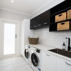 """See our site for additional information on """"laundry room storage diy small"""". It is an exceptional location to learn more. Decor, Small Laundry Rooms, Small Decor, Room Storage Diy, Laundry, Diy Basement, House, Laundry In Bathroom, Home Decor"""