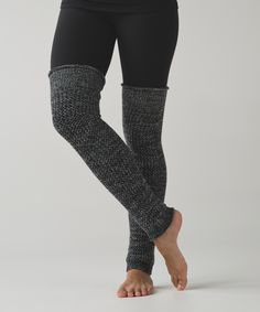 Layer and scrunch these super-soft knee high leg warmers over tights to keep toasty before, during, or after practice—get a leg up on that chilly weather.