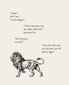 Chronicles of Narnia Book Quotes, Me Quotes, Aslan Quotes, People Quotes, Lyric Quotes, Cool Words, Wise Words, Chronicles Of Narnia, Knowing God