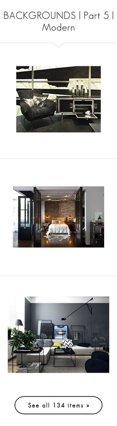"""""""BACKGROUNDS   Part 5   Modern"""" by annmaira ❤ liked on Polyvore featuring home, lighting, table lamps, foscarini, pillar lights, column lamps, fluorescent lights, rock lights, home decor and wall home decor"""