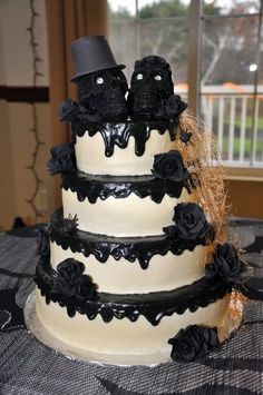 halloween wedding cake | BellaCakes - Cakes for Weddings