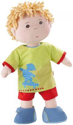 Haba toys Little Scamp Michael soft doll - dressing up dolls for children Kids Toys Online, Dress Up Dolls, Boy Doll, Soft Dolls, Stuffed Animal Patterns, Plush Dolls, Rag Dolls, Doll Toys, Cute Dolls