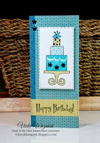 Wizard's Hangout: Build-a-Cake Money Holder Birthday Card
