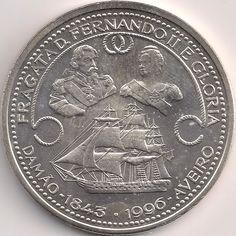 Motivseite: Münze-Europa-Südeuropa-Portugal-Escudo-1000.00-1996-Fernando II