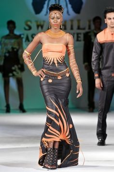 African Wedding Gowns | african wedding attire:african beautiful women attire » African ...