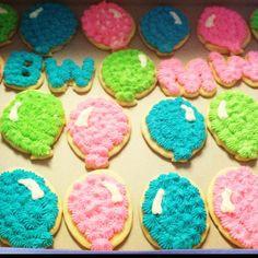 Birthday Balloon Cookies