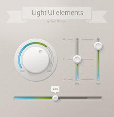 光UI UIコントロールのUI要素