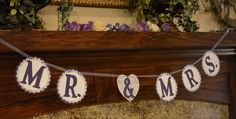 Mr. & Mrs. Banner for Weddings/Bridal by ASouthernGirlsGifts