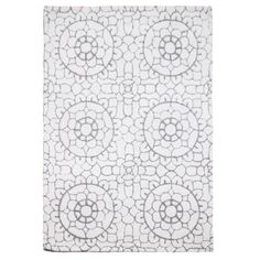 RJR.John Rocha Cream wool 'Lace' rug- at Debenhams.com