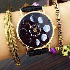 "Cute harajuku personality total eclipse watch do you want this? Use The code: ""cherry blossom"" get 10%OFF everytime you shop at (www.sanrense.com)"