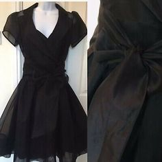 <p>COAST BLACK SILK ORGANZA OCCASION DRESS SIZE 12 RRP £135</p><p>I purchased this beautiful dress for a black tie dinner and it has been worn once</p><p>Consisting of a slip dress and a beautiful sheer organza overlay, with a sash tie </p><p>Absolutely stunning on I had many compliments would be fabulous for any special occasion or party </p><p>From a smoke free home </p><p>Please see my other listings</p> Silk Dress, Wrap Dress, 135i, Bandeau Dress, Elegant Christmas, Silk Organza, Ball Gown Dresses, Black Silk, Absolutely Stunning