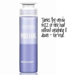 John Frieda frizz-ease sheer solutions    Need to buy this!