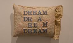 Dream, Dream Dream - Pillows 1962-63 by Stephen Antonakos - Nalata Nalata