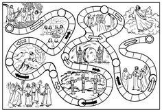 Jesus' last days. Catholic Crafts, Catholic Kids, Church Crafts, Sunday School Kids, Sunday School Lessons, Sunday School Crafts, Bible School Crafts, Bible Crafts, Idees Cate