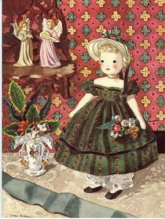 """If you're at all interested in vintage (30s and 40s) sewing and dolls, you may have heard of Edith Flack Ackley. She had lots of patterns as well a book called """"Dolls to Make for Fun and Profit"""" I..."""