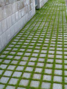 Ideakuvat | Rudus Grass Pavers, Paving Stones, Concrete, Golf, Contemporary, Outdoor, Home Decor, Outdoors, Decoration Home