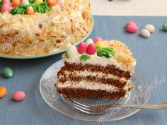 Húsvéti répatorta – marcsireceptjei.hu Tiramisu, Pie, Easter, Ethnic Recipes, Food, Torte, Cake, Fruit Cakes, Easter Activities