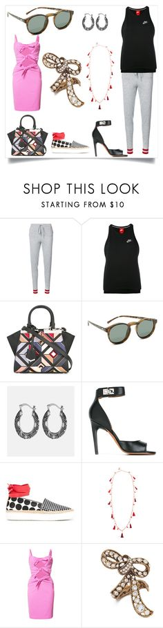 """""""Modalist cashback offer"""" by denisee-denisee ❤ liked on Polyvore featuring Chinti and Parker, NIKE, Fendi, Le Specs, Avenue, Givenchy, Pierre Hardy, Rosantica, Moschino and Marc Jacobs"""