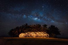 Capturing Fire Dancers Under the Milky Way, on a Deserted Island - http://thedreamwithinpictures.com/blog/capturing-fire-dancers-under-the-milky-way-on-a-deserted-island