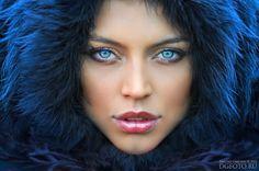 Fur hood! (and LOOK AT THOSE EYES!!!)