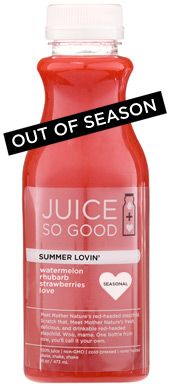 SUMMER LOVIN — Juice So Good & Coffee So Good